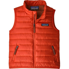 Patagonia Baby Down Sweater Vest Kids hot ember